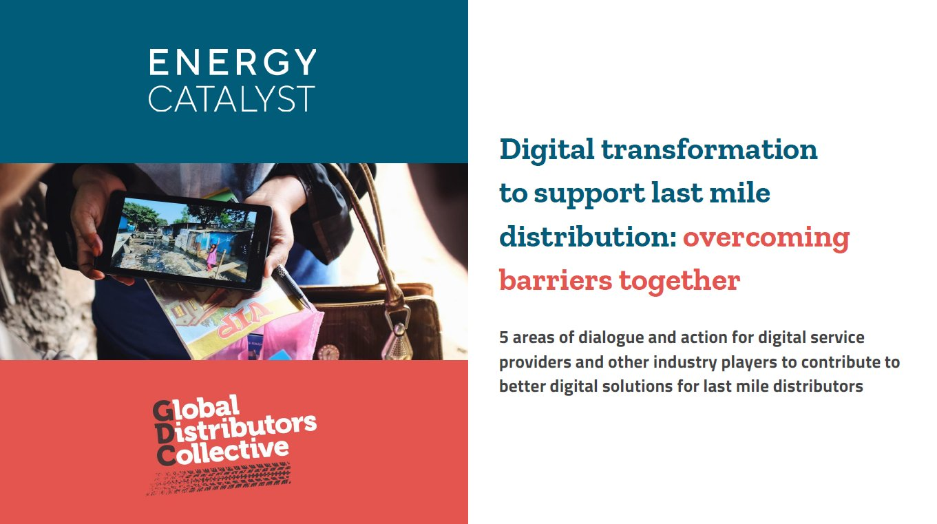 Digital transformation to support last-mile distribution: overcoming barriers together
